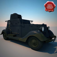 Wg 202 German WW2 Railway Armoured Car V1