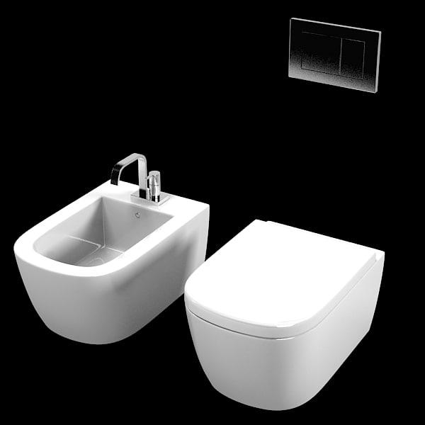 Antonio lupi komodo 3ds - Wc model ...