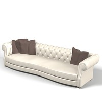 baxter diana chester classic glamour  tufted luxury club sofa