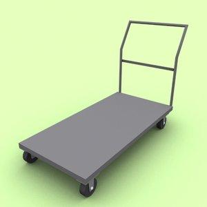3d bulk utility cart