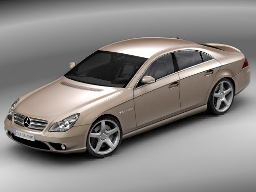 3ds max mercedes benz cls amg