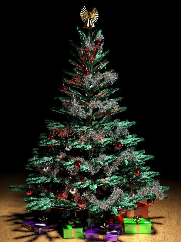 max xmas new year tree christmas