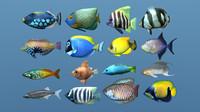16 More Tropical Fish (ma, obj)
