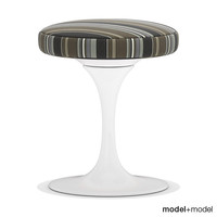 3ds tulip stool knoll saarinen chair