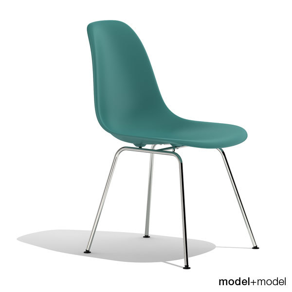 3d model eames plastic chair dsx