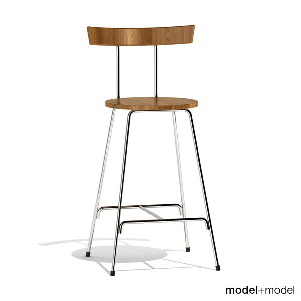 3d 3ds konwiser stool cherner chairs