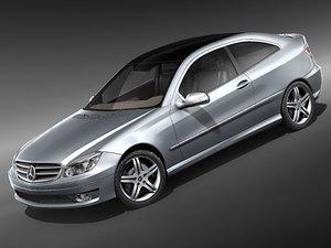3d mercedes 2008 model