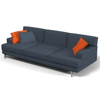 3d molteni hug sofa