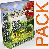 3d plant normal games model