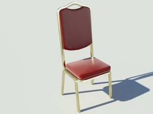 3ds banquet chair