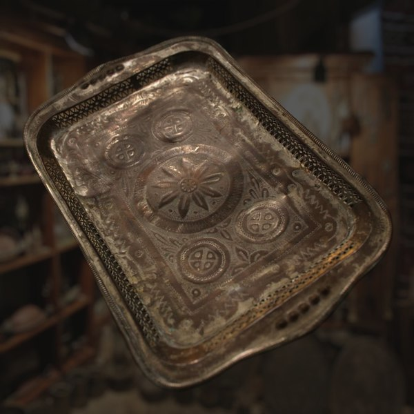3d model of middle eastern tray