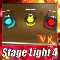 3d stage light 04 -