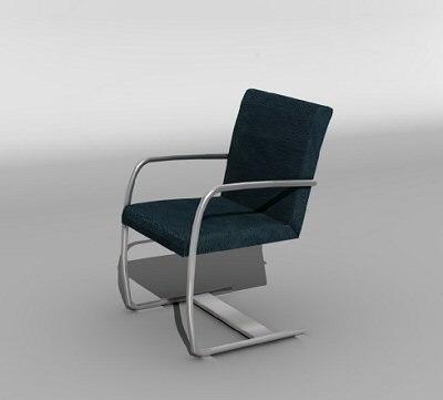 swing chair 3d model