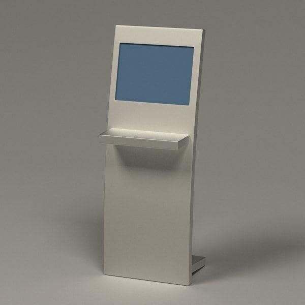 3d computer terminal model