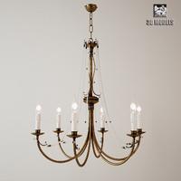 tredici chandelier 3d max