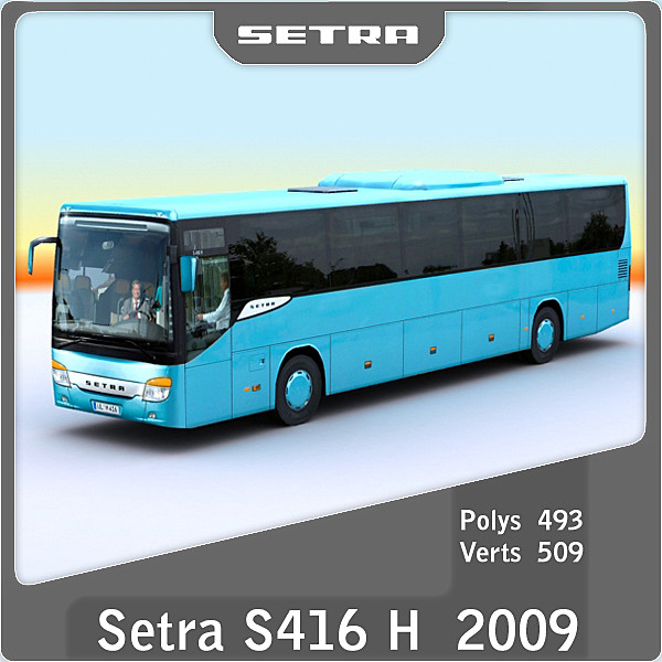 3d 2009 setra s416 h model