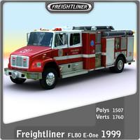 1999  Freightliner FL80 E-One