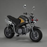 minimoto moto 3d 3ds