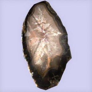 max oblong geode slab
