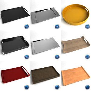 trays 3d max