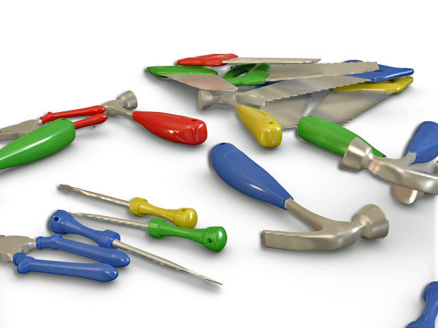 Hand Tool 3d Max