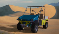 utility vehicle concept 3d wrl