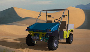 utility vehicle concept 3d wrl