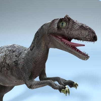 allosaurus 3d model