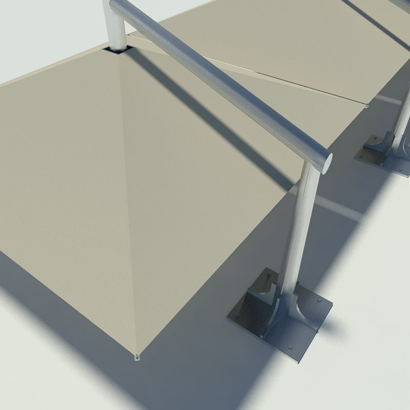 3ds max car canopy