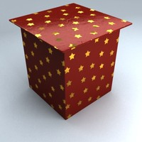 3ds max christmas gift box