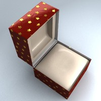 christmas gift box 3d 3ds