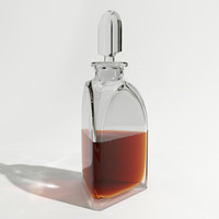 maya glass whisky decanter
