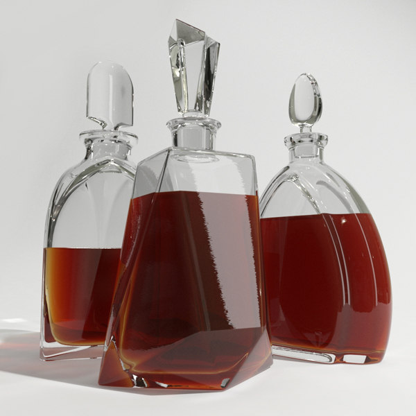 set whisky decanters dxf