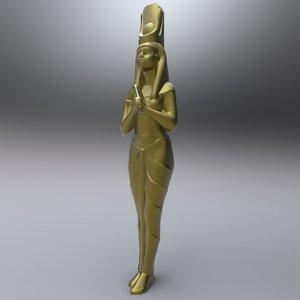 maya egyptian female statue ancient egypt