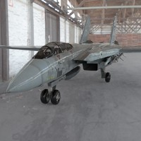 f-14 tomcat aircraft fighter 3d 3ds
