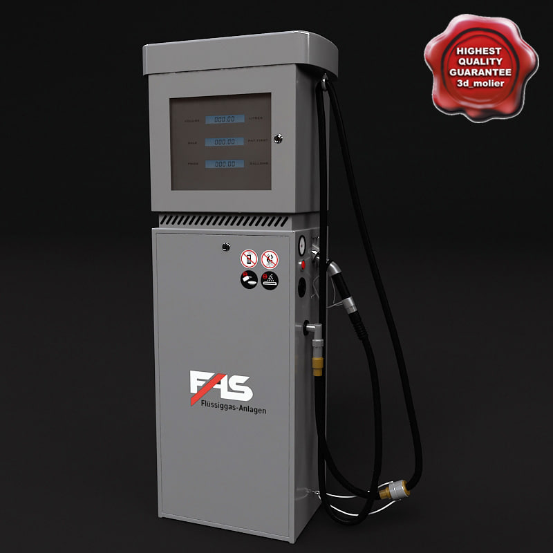 gas pump fas-120 3ds