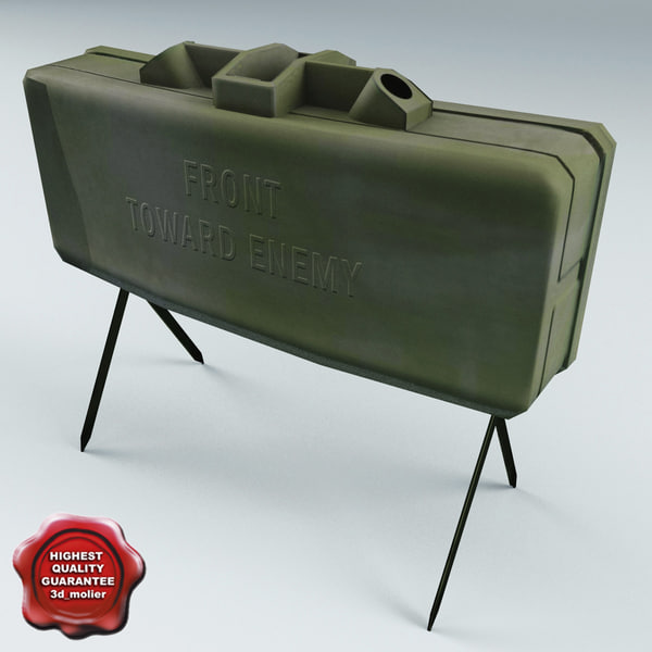3ds max m18 claymore anti-personnel