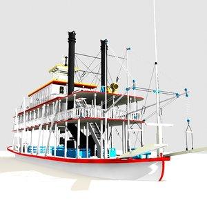mississippi river boat historic lwo
