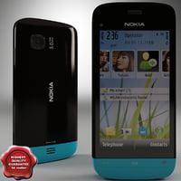 Nokia C5-03 black-blue