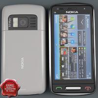Nokia C6-01 white