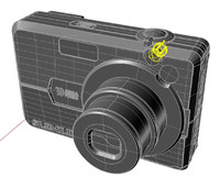3d 3dm slimline 10 mega-pixels digital camera