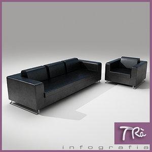 3d sofa gran model