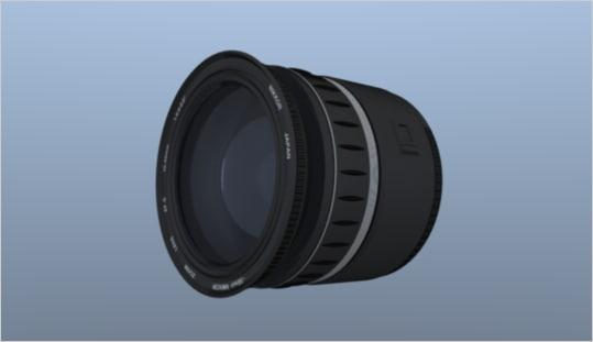 camera lens 3ds
