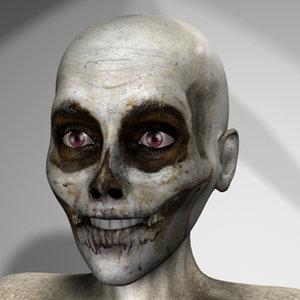 skeleton character x