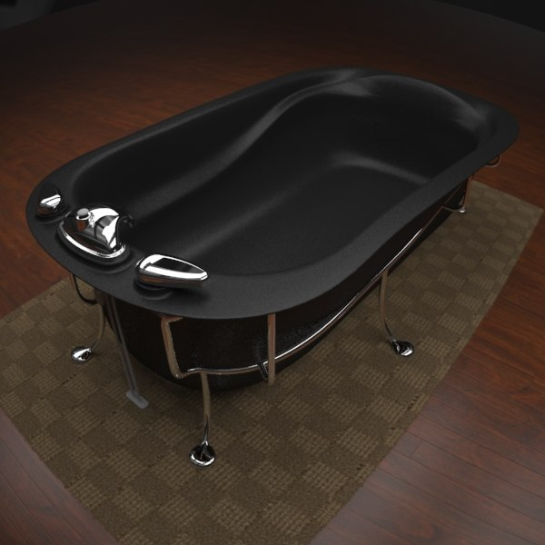max modern soaking tub