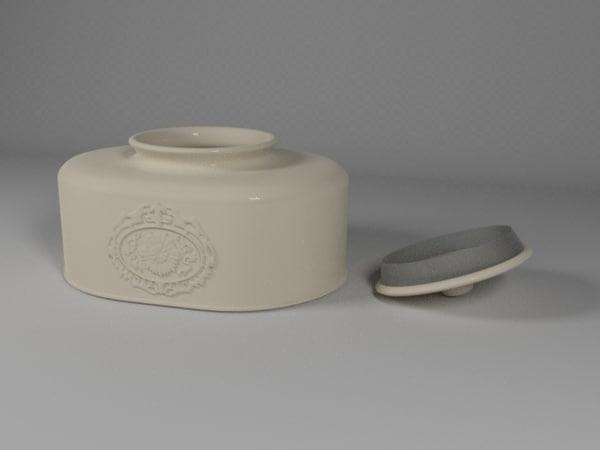 ceramic pot 3ds