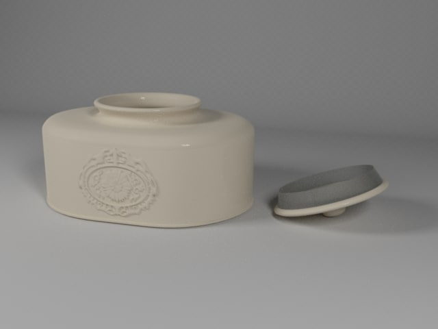 ceramic pot 3ds