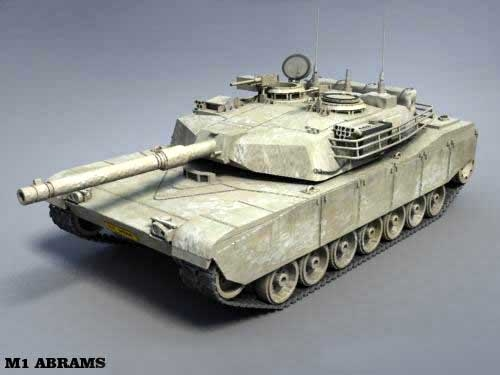 a1 m1 abrams tank tracks 3ds
