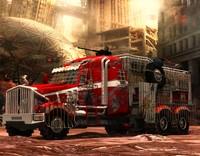 3d model nuke war truck