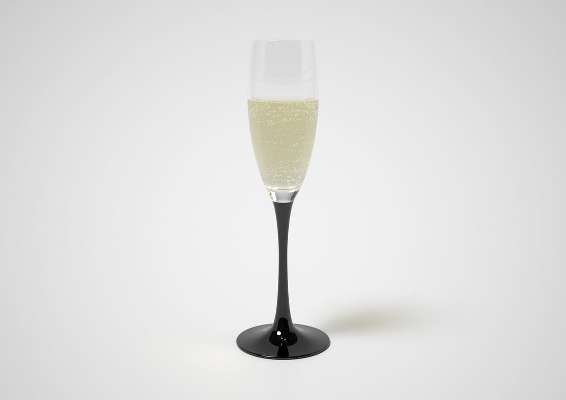 maya sparkling wine glass